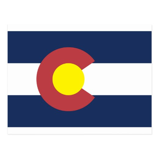 Colorado State Flag Post Cards