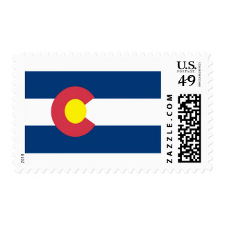 Colorado State Flag Postage Stamps