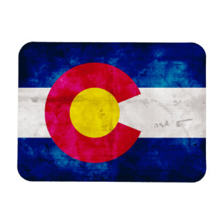 Colorado State Flag Rectangle Magnet