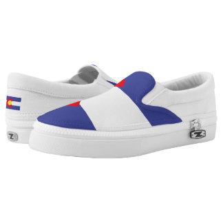 Colorado State Flag Printed Shoes