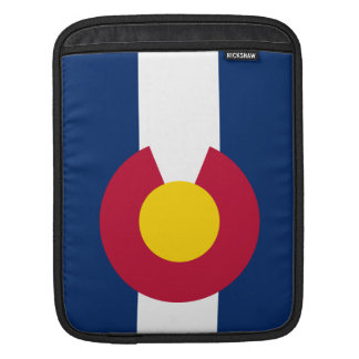 Colorado State Flag Sleeve For iPads