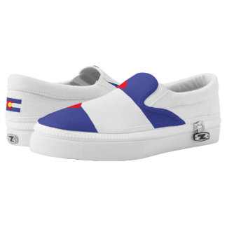 Colorado State Flag Slip-On Sneakers