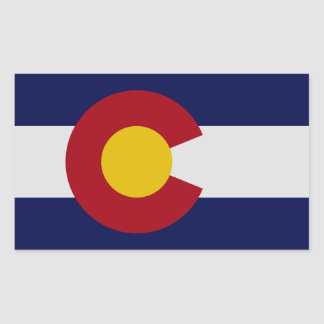Colorado State Flag Sticker