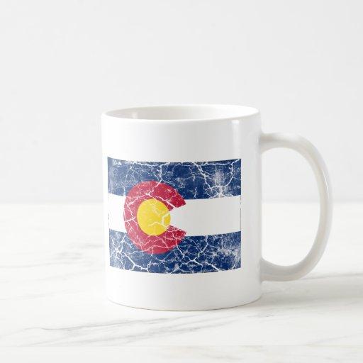 Colorado State Flag Vintage Coffee Mug Zazzle
