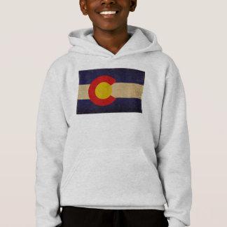Colorado State Flag VINTAGE.png Hoodie