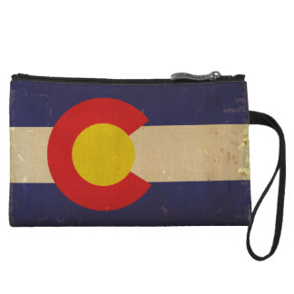 Colorado State Flag VINTAGE.png Wristlet