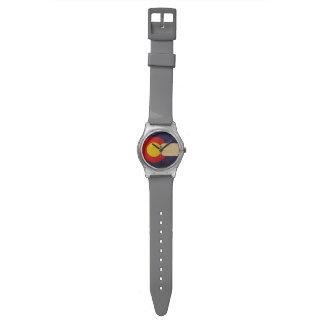 Colorado State Flag VINTAGE.png Wristwatch