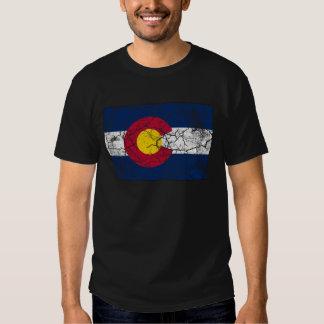 Colorado State Flag Vintage T-Shirt