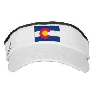 Colorado State Flag Visor