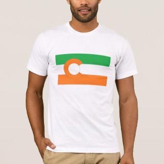 Colorado State Flag w/Irish colors T-Shirt