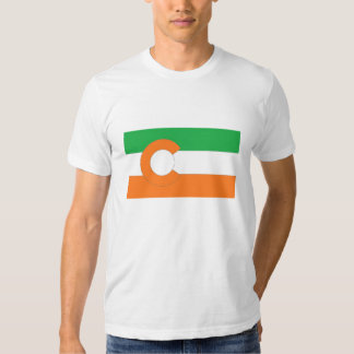 Colorado State Flag w/Irish colors T Shirts