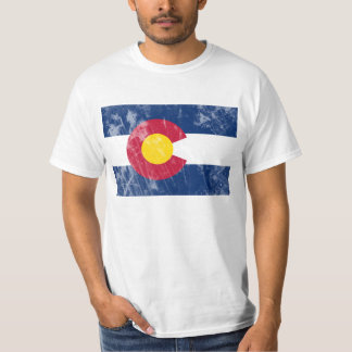 Colorado State Flag, Waldo Canyon Fire T-Shirt