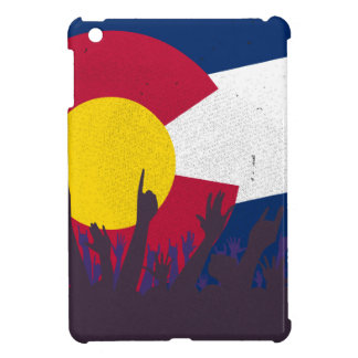 Colorado State Flag with Audience iPad Mini Cover
