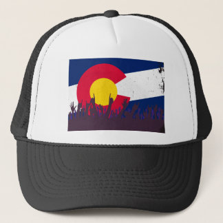 Colorado State Flag with Audience Trucker Hat