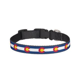 Colorado State Flag Pet Collar