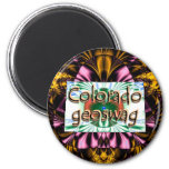 Colorado State Geocaching Supplies Magnet Geoswag