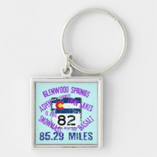 Colorado State Highway 82 Key Chains