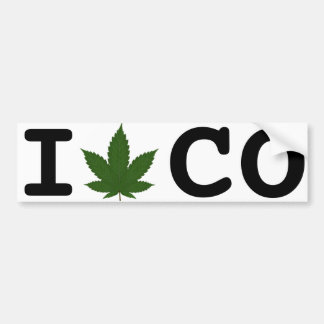 Colorado State of Mind Bumper Sticker