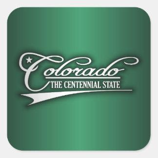 Colorado State of Mine Square Sticker