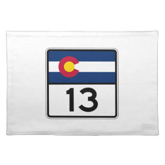 Colorado State Route 13 Placemat