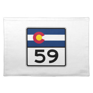 Colorado State Route 59 Placemat