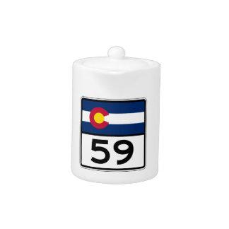 Colorado State Route 59 Teapot