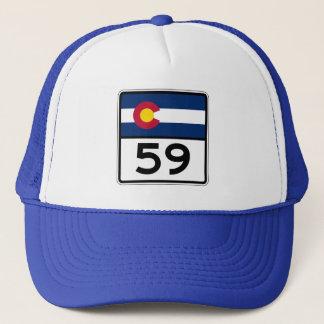 Colorado State Route 59 Trucker Hat