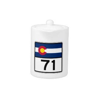 Colorado State Route 71 Teapot