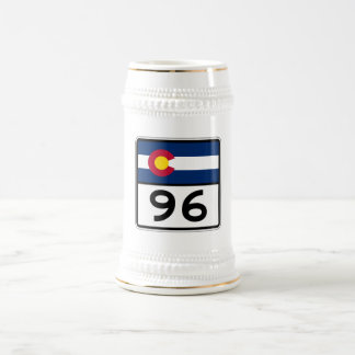 Colorado State Route 96 Beer Stein