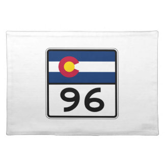 Colorado State Route 96 Placemat