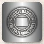 """""""Colorado Steel"""" Cork Coasters"""