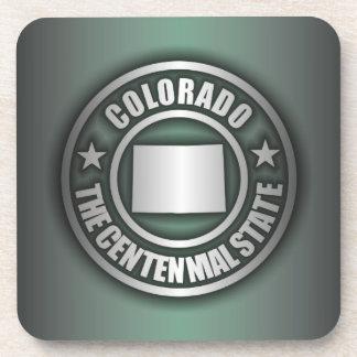 """""""Colorado Steel"""" Cork Coasters (G)"""
