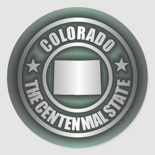 """""""Colorado Steel"""" Stickers (G)"""