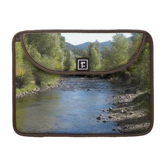 Colorado Stream photo - Estes Park Sleeve For MacBooks