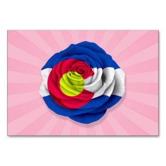 Colorado subió la bandera en rosa