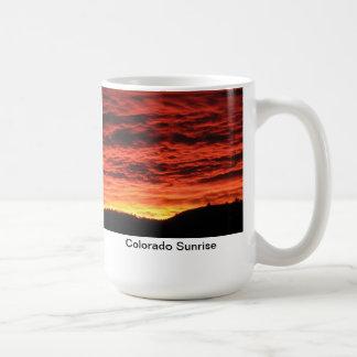 Colorado Sunrise Classic White Coffee Mug