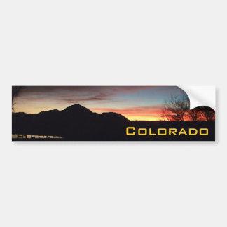 Colorado Sunsets Bumper Sticker 5 Car Bumper Sticker