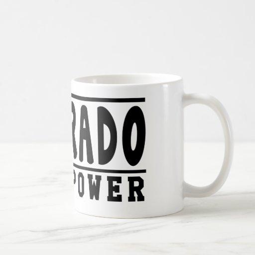 Colorado Superpower Designs Coffee Mug