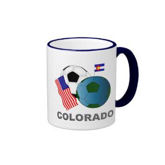 Colorado Taza De Dos Colores