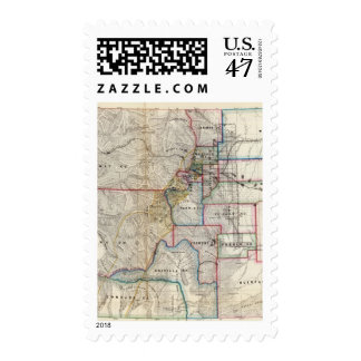 Colorado Territory Stamp