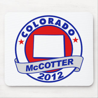 Colorado Thad McCotter Mouse Pad