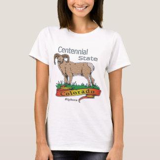 Colorado The Centennial State Bighorn T-Shirt