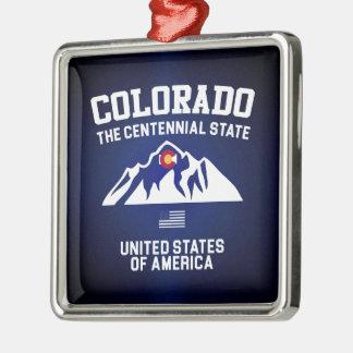 Colorado The Centennial State Metal Ornament