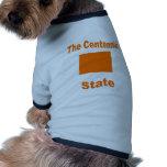 Colorado: The Centennial State Pet Tee Shirt