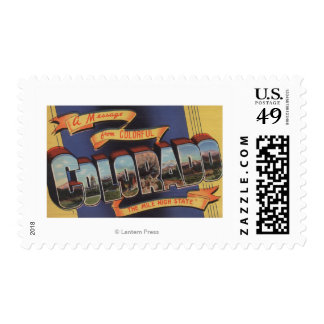 Colorado (The Mile High State) Postage