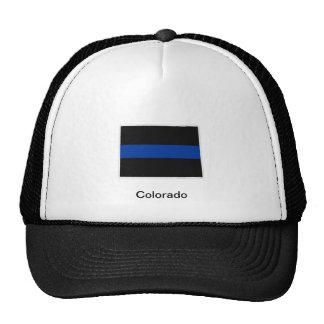 Colorado Thin Blue Line Trucker Hat