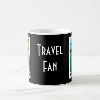 Colorado Time Rock Island System Travel Art Coffee Mug
