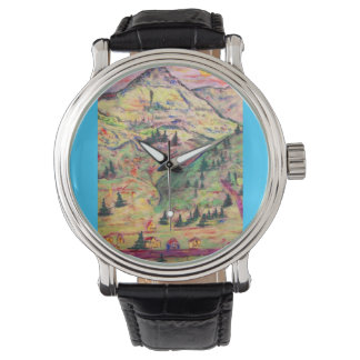 colorado town art wristwatches