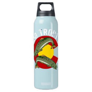 Colorado Trout Angler Insulated Water Bottle