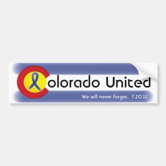 Colorado unió el bumpersticker de la cinta de la pegatina de parachoque